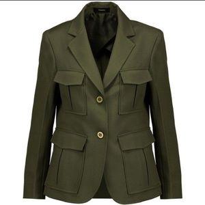 THEORY | Lackman Prospective Olive Green Blazer